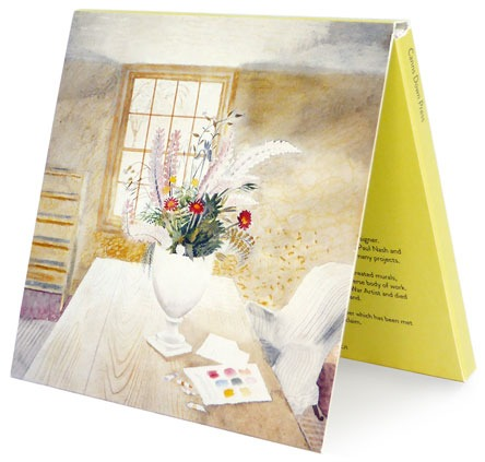 Notecards: Garden Flowers on Cottage Table and Furlongs