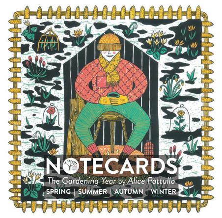 Notecards: The Gardening Year Notecard Set WINTER
