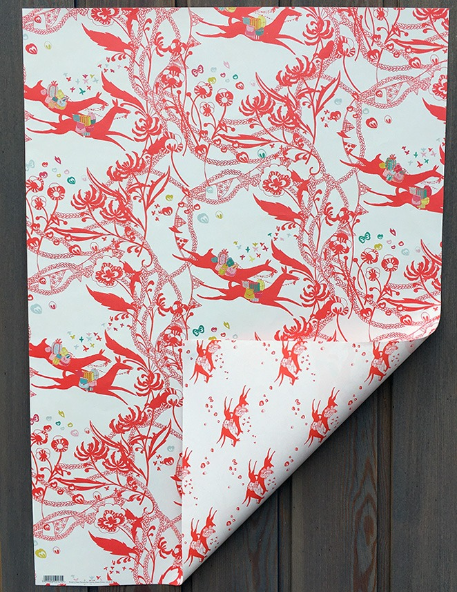 Rosie's Deer Parcels DOUBLE SIDED