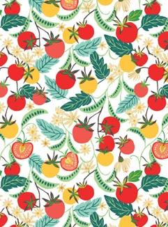 Summer Greenhouse Pocket Print Small Card