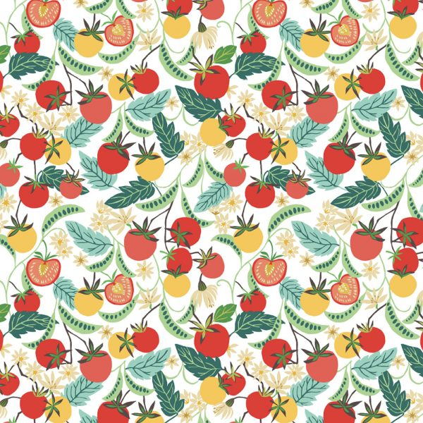 Brie Harrison Summer Greenhouse gift wrap sheet