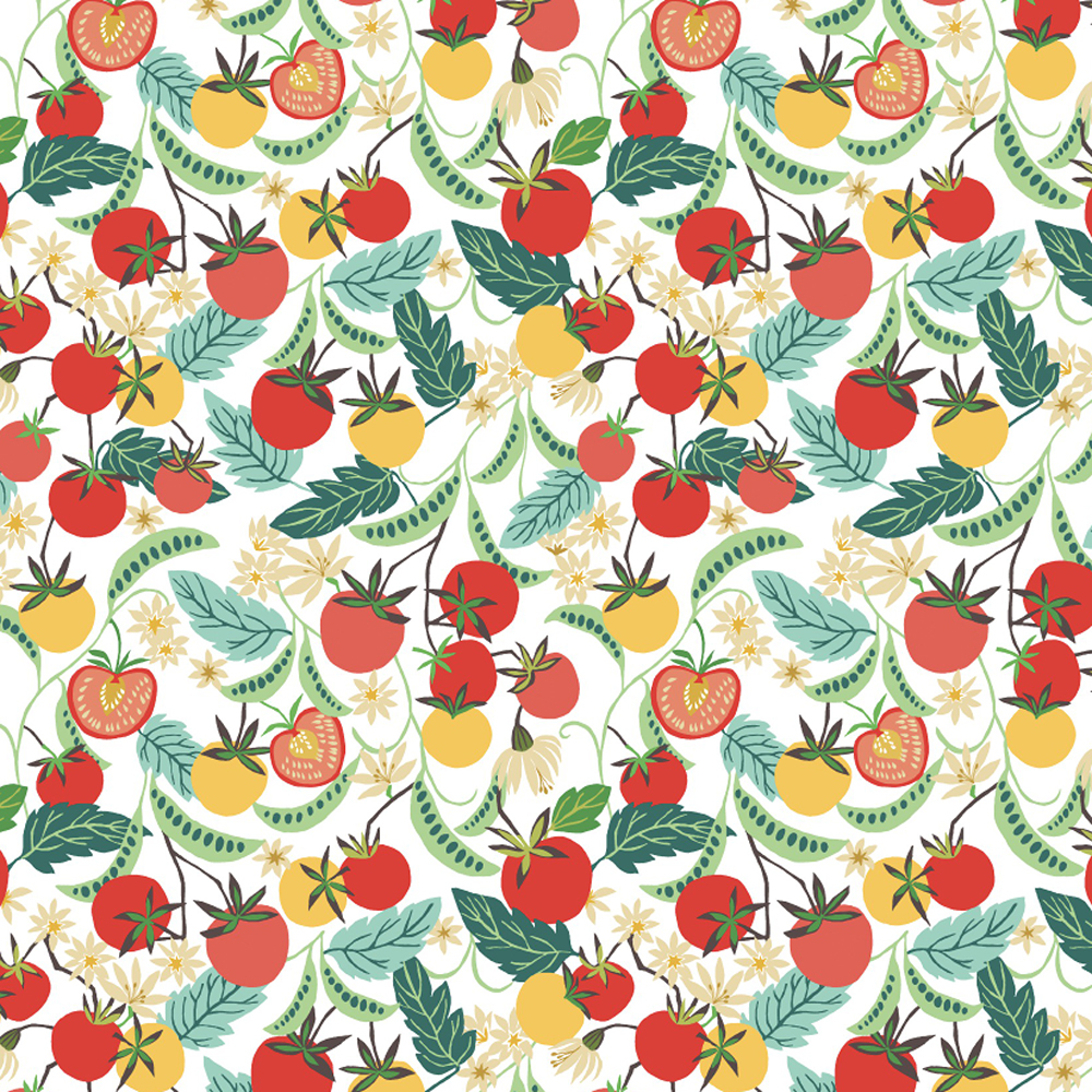 Summer Greenhouse Gift Wrap Sheet