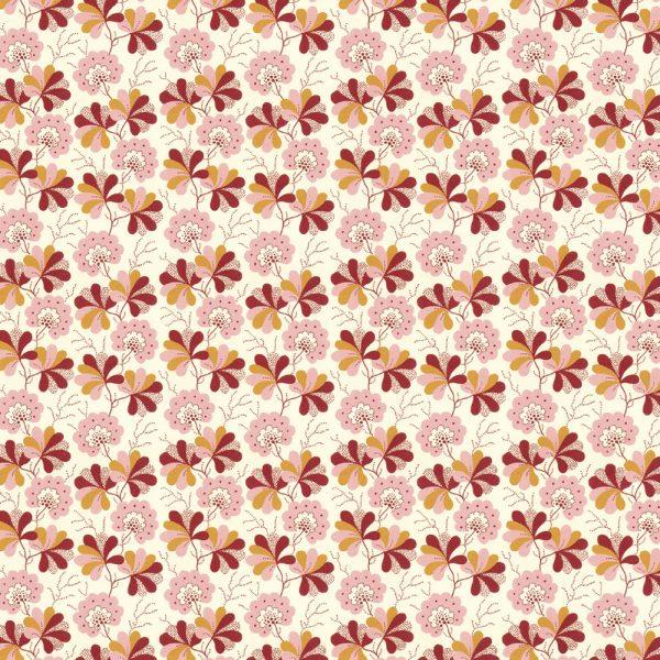 Kilburn Wallpaper floral Gift wrap sheet