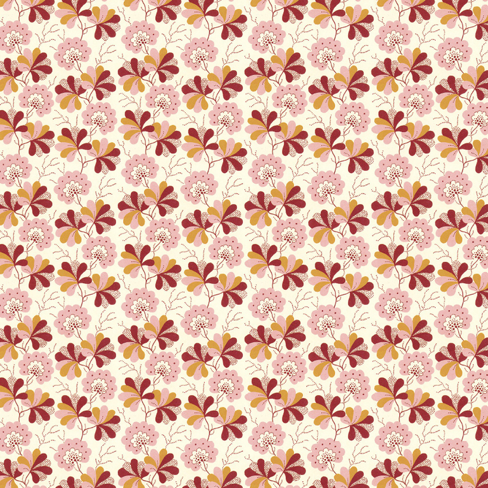 Wallpaper Floral Gift Wrap Sheet