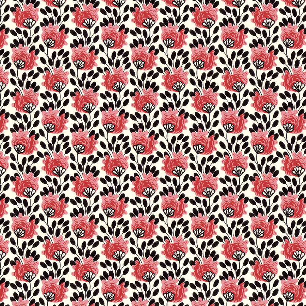 Spotted Flowers Gift Wrap Sheet