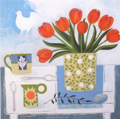 Tulips & Dove