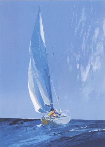 Sailing into Rain