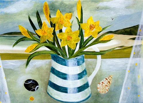 Daffodills and Shells