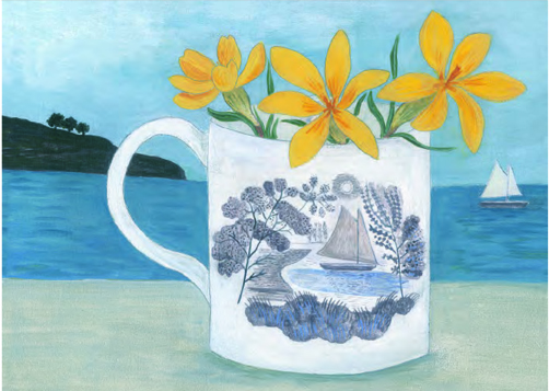 Ravilious Boat Cup and Crocus