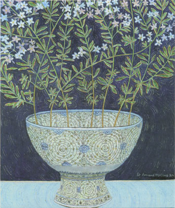 Jasmine Flowers, Provence, Turkish Bowl, V&A Museum