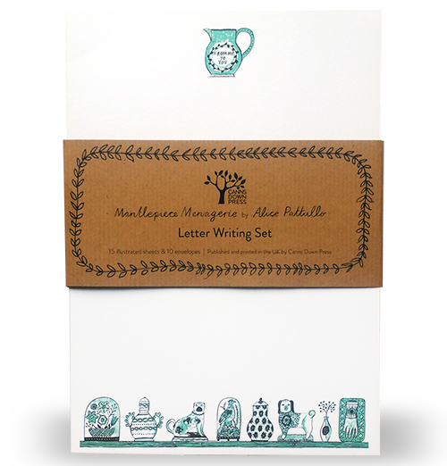 Letter Writing Set: A Mantlepiece Menagerie, Mint