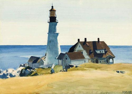 Lighthouse and Buildings, Portland Head, Cape Elizabeth, 1927