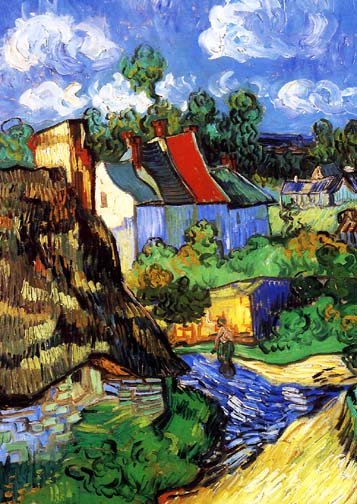 House at Auvers (Detail)