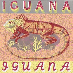 I is for Iguana, curled in the sun