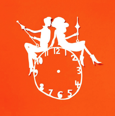 Clock Couple